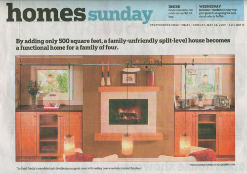 Star Tribune Homes front page