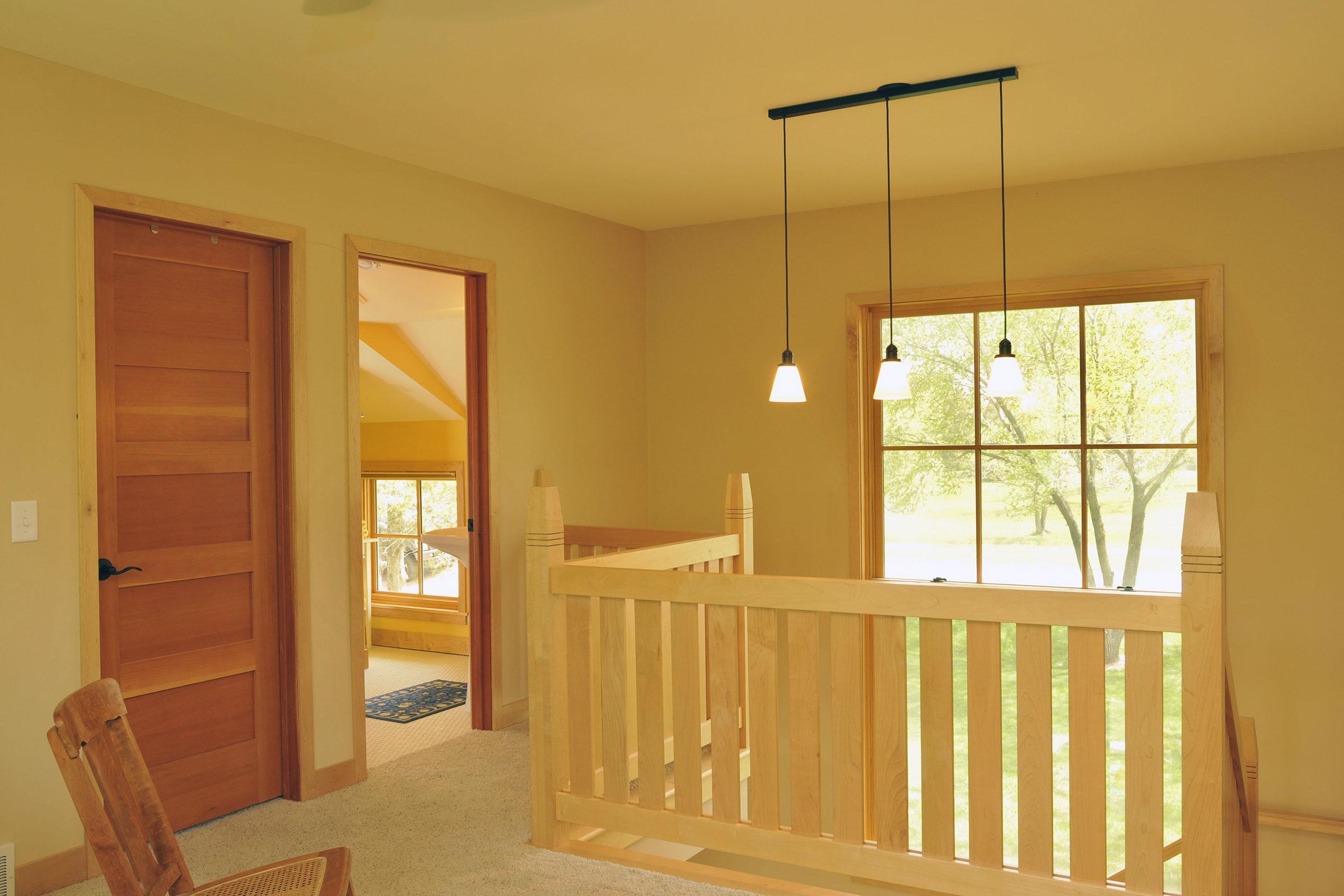 Upper Loft & Open Stair