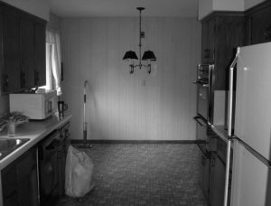 Before – Kitchen/dining